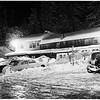 Snow on  Angeles Crest Highway, 1952