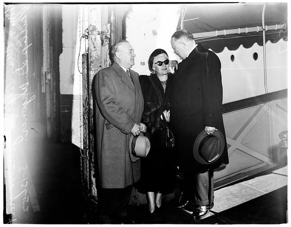 Underwood Board Chairman, 1952