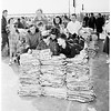 Weschester High School paper drive, 1952
