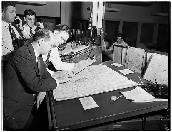 Weather Bureau at International Airport, 1952