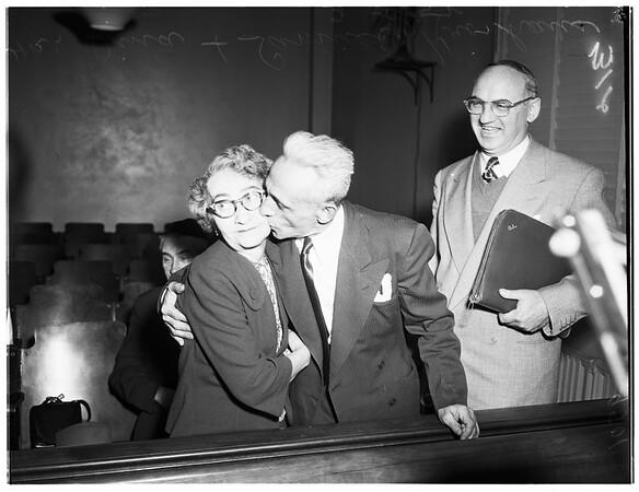 Kronhaus separate maintenance, 1952