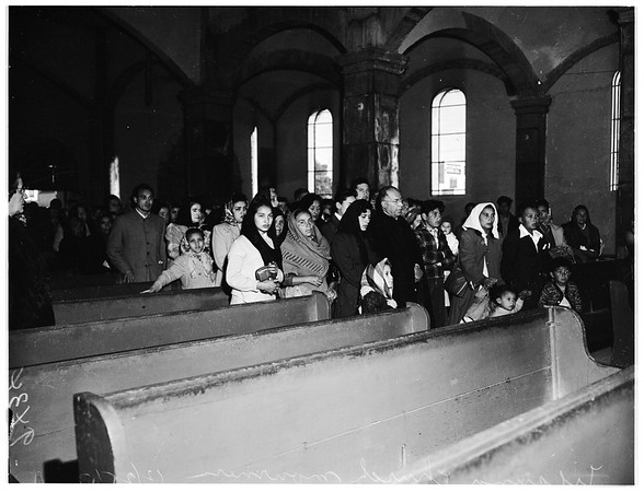 Tijuana Funeral for Victims of Fire, 1951