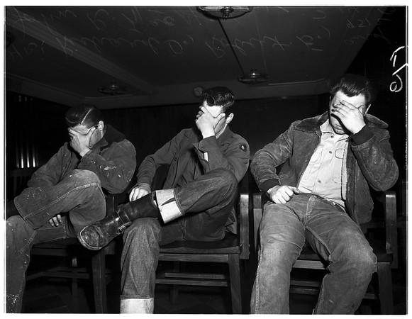 Draft dodgers, 1952