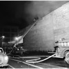 Fire at 3rd Street and Broadway, 1952