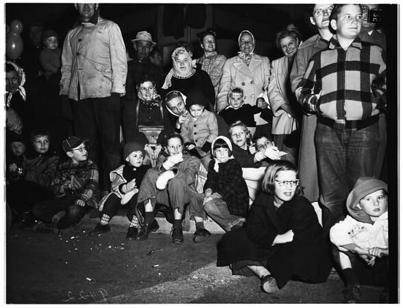 Christmas Parade ...Van Nuys, 1951