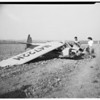 Reckless flyer crashes, 1952.