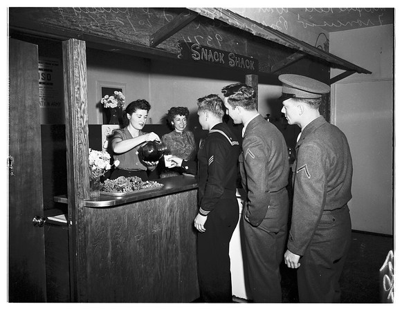 County Employees at United Service Organizations, 1951