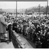 Rodger Young Village mass protest meeting, 1952