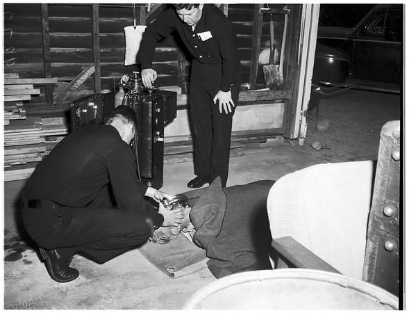Hanging (Van Nuys), 1951