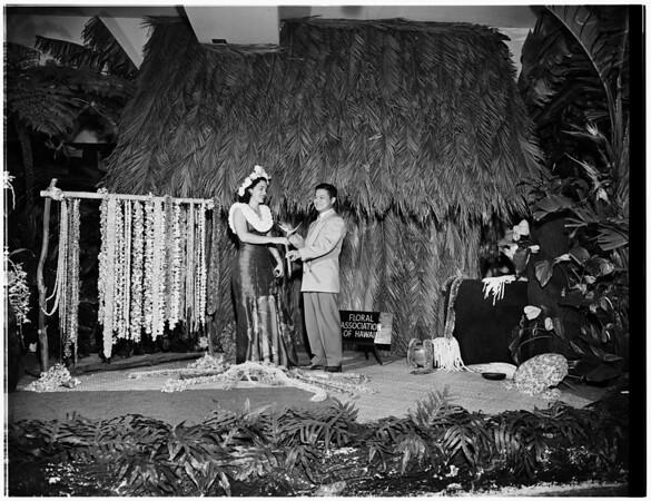 Flower show, 1952