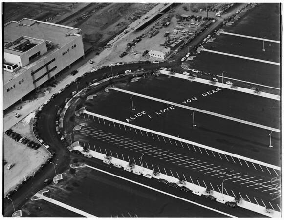 Lakewood Park Shoppping Center, 1951