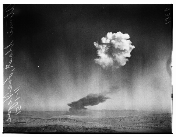 Atomic Blast in Nevada, 1951