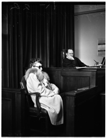 Widow swindle, 1952