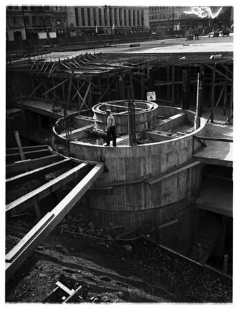 Pershing Square Parking, 1951