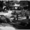 Tree down on auto ...827 South Burlington Avenue, 1952