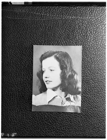 Misener murder preliminary (Santa Monica), 1952