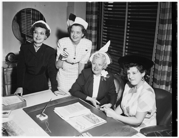 Los Angeles Advertising Women's Convention, 1951