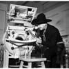Polio victim, 1952