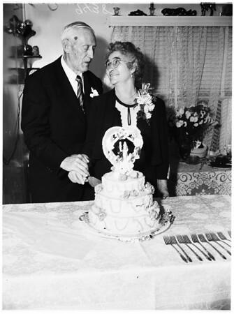 Holt Golden Wedding, 1951
