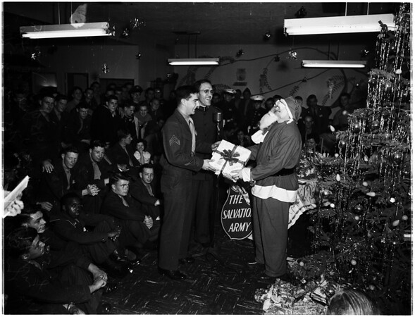 Christmas ...Salvation Army United Service Organizations Center, 1951