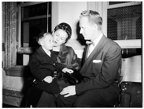 Adoption fight, 1952