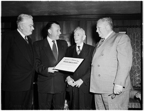 Judge Chambers story, 1951