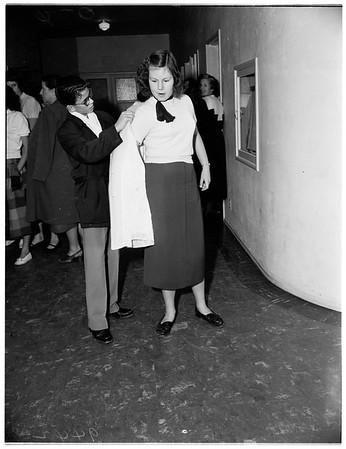 Young Women's Christian Association ...8th grade Junior High School hop, Glendale, 1951