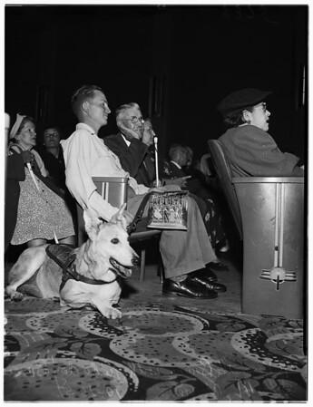 Blind Matinee (Laurel Theatre), 1951