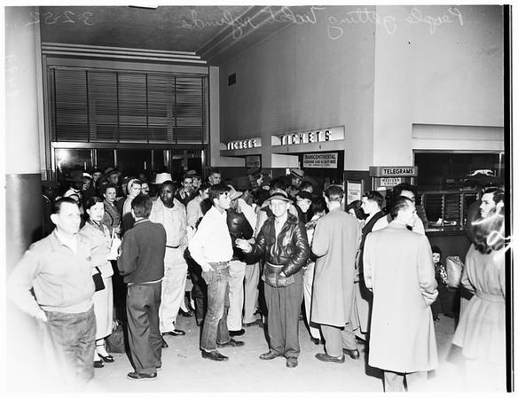 Greyhound bus strike, 1952