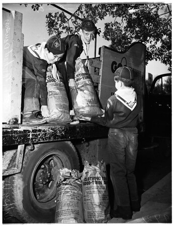 Boy Scouts good turns, 1951