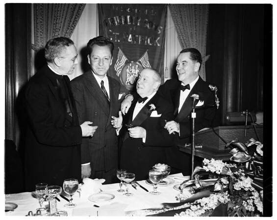 Friendly sons of Saint Patrick, 1952