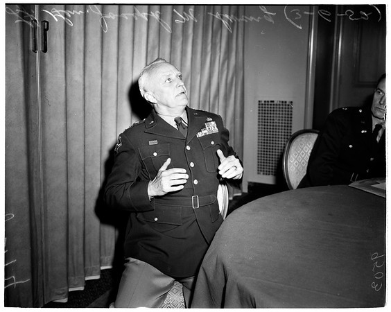 Interview ...California Club, 1952