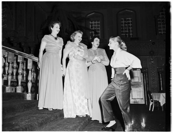 Society ...Matinee Musical Club ...Cocoanut Grove, 1951