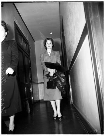Connie Ackerman, 1952