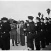 Police Inspection ...Santa Monica, 1951