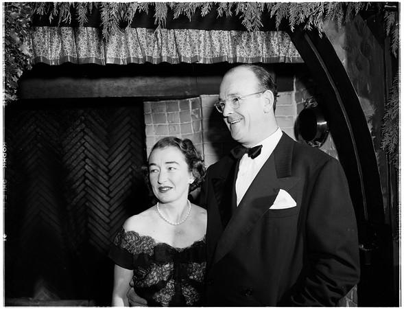 Mr. and Mrs. Henri Chappellet, 1951
