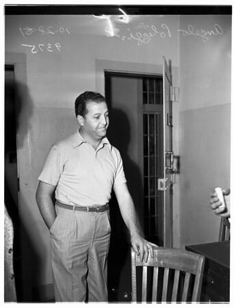 Gangland Murder Suspect, 1951