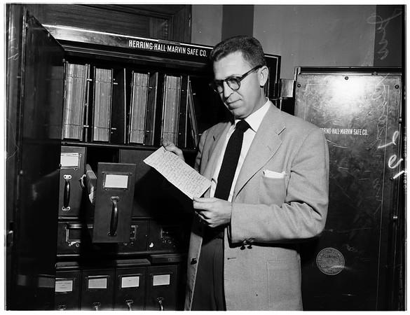 Jolson contract, 1952