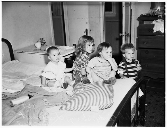 Children Abandoned by Parents, Mr. and Mrs. Don Covert, 1951