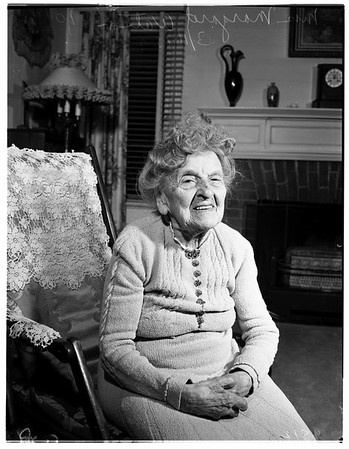 One hundred first (101st) birthday, 1952