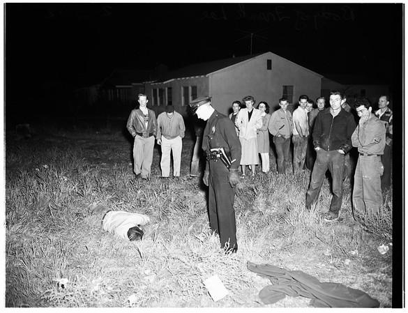 Onion murder (13233 Terra Bella Street, Pacoima), 1952