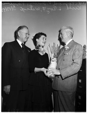Rose Presentation (International Flower Show publicity), 1952