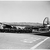 Christmas ...Eastern Airlines flies seventy-two men of the crew of Bonhomme Richard, recently returned from Korea, home as a gift, 1951
