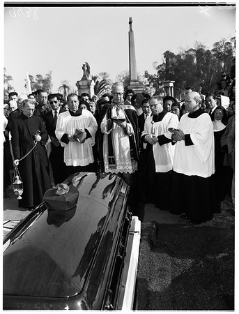 Monsignor Guzman funeral, 1951