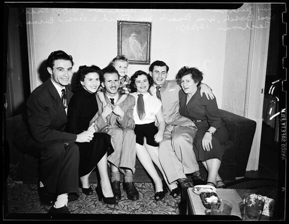 Displaced Person Family, 1951