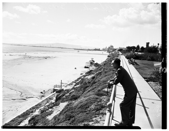 Beach erosion, 1952