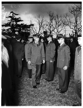 Inspection of USC R.O.T.C., 1952