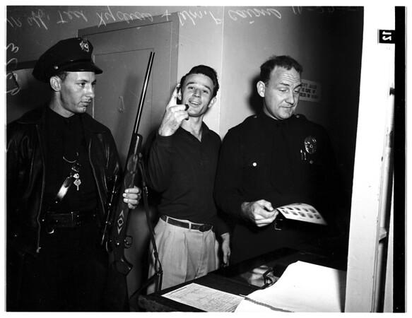 Spurned lover slaying... Burbank, 1951