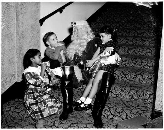 Kids Christmas Party, 1951
