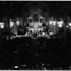 Christmas Mass at Saint Vibiana Catholic Cathedral, 1951